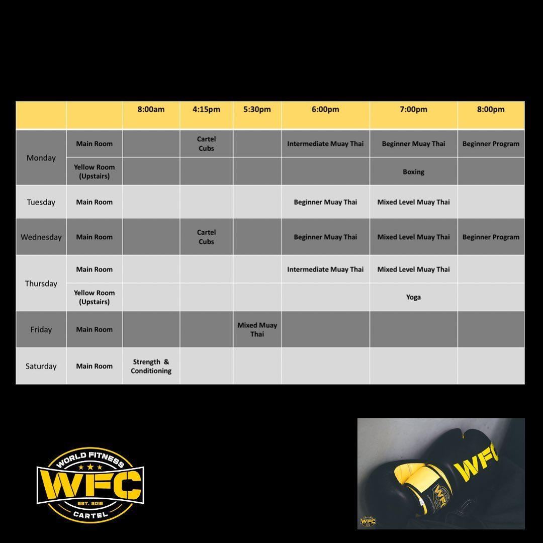 WFC Chirnside Timetable